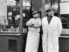 PARIS : RUE DES ROSIERS, LE MARAIS JUIF, 1974-1975