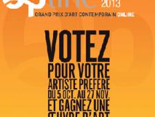 OPLINE 2013 : VOTEZ EN LIGNE POUR VOTRE ARTISTE PRÉFÉRÉ WWW.OPLINEPRIZE.COM